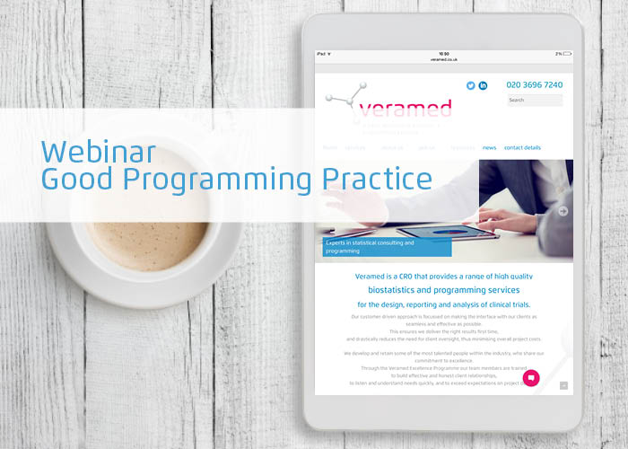 A webinar recording of Good Programming Practice