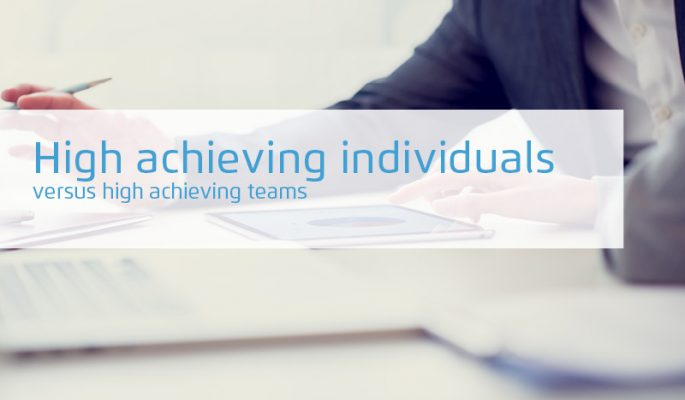 High achieving individuals Versus High Achieving Teams, the importance of social capital in developing successful teams