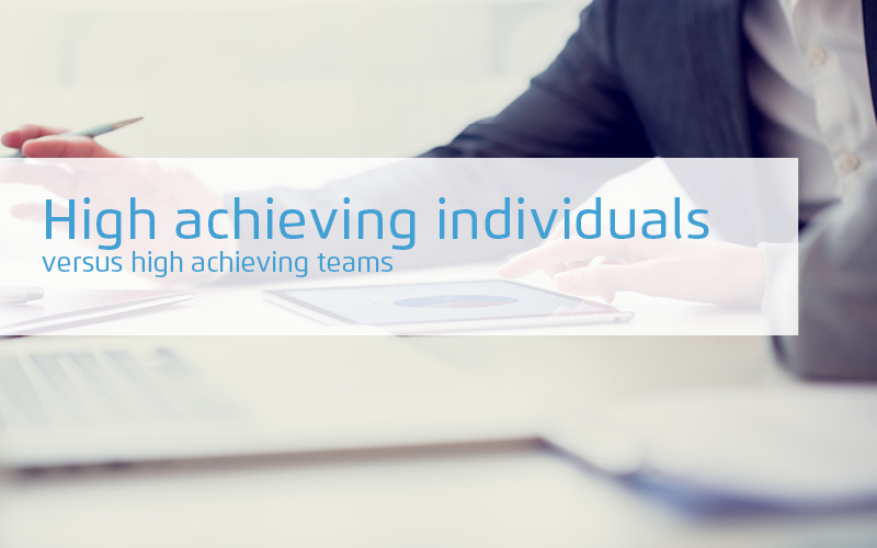 High Achieving Individuals Versus High Achieving Teams Webinar