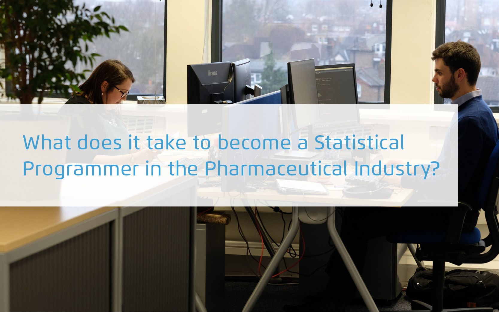 What does it take to become a statistical programmer in the pharmaceutical industry?