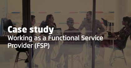 Veramed Resources, Case Study: Working as a Functional Service Provider (FSP)
